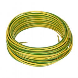 Conductor electric FY 1.5 colac 100M, Cupru, Verde Galben