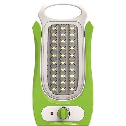Lampa reincarcabila LED 6W, Total Green, Verde
