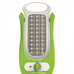 Lampa reincarcabila LED 6W, Total Green, Verde