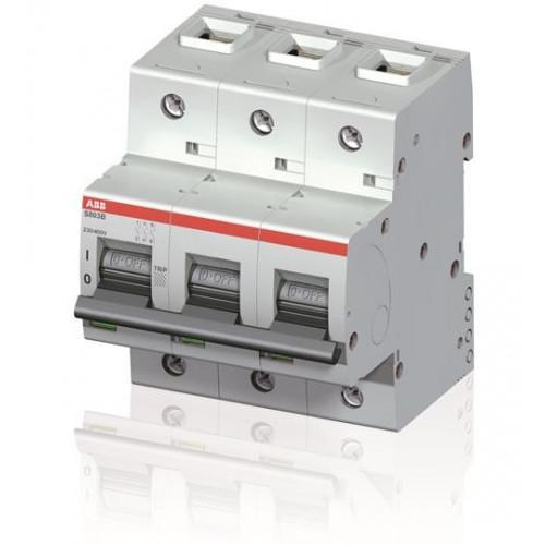 Intrerupator automat tripolar 100A 3P C 16kA, ABB