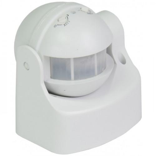 Senzor de prezenta 180 de grade IP44, Novelite, Alb