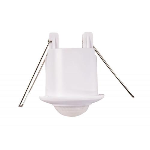 Senzor de prezenta 360 de grade incastrat, Novelite, Alb