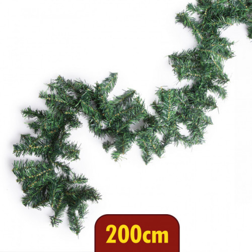 Ghirlanda brad verde 200 cm