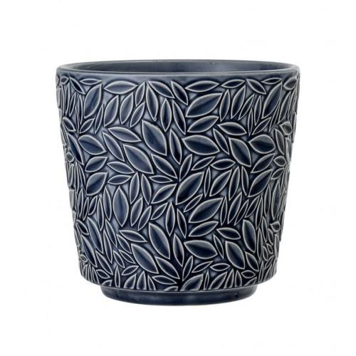 Ghiveci din ceramica H14 cm, Albastru, Bloomingville 25603362