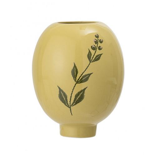 Vaza din ceramica H15 cm, Galben, Bloomingville 22063241