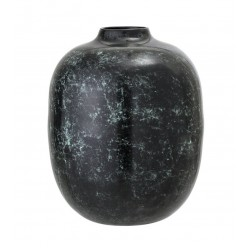Vaza din metal H25 cm, Verde, Bloomingville 48605464