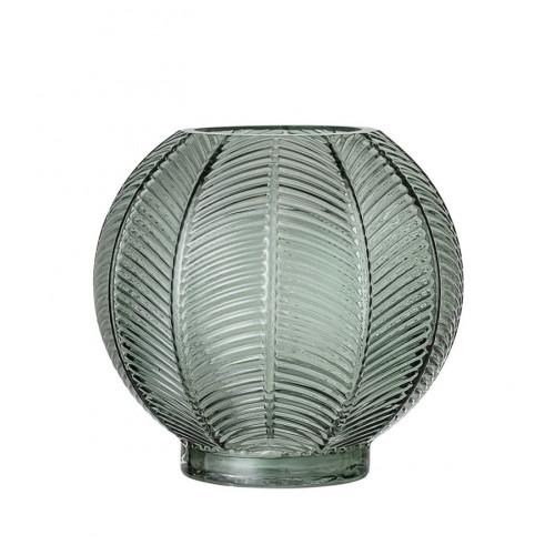 Vaza din sticla H15 cm, Verde, Bloomingville 23602711