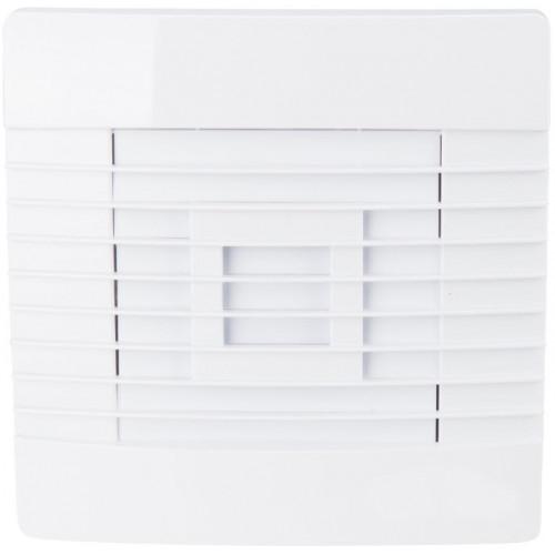 Ventilator cu jaluzea, 160x160 mm, Alb, Evosanitary