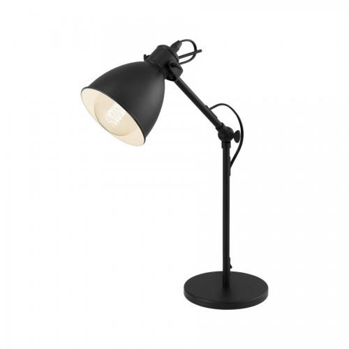 Lampa de birou Priddy, Eglo, Negru, 49469