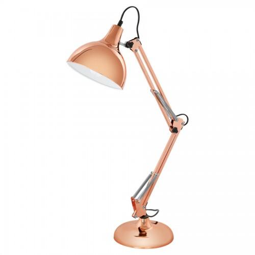 Lampa de birou Borgillio, Eglo, Cupru, 94704