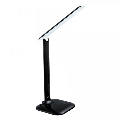 Lampa de birou LED Caupo, Eglo, Negru, 93966