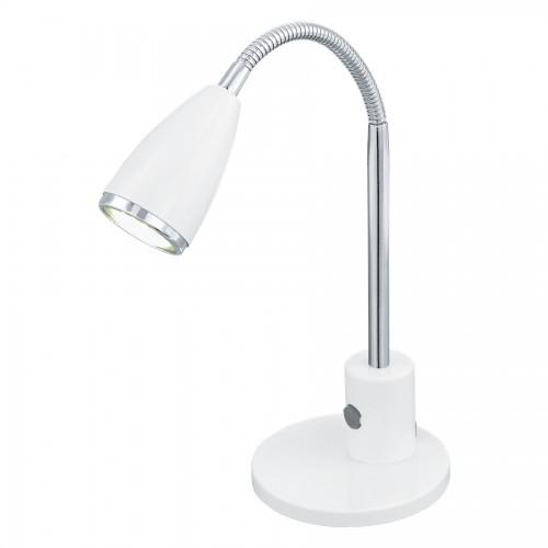 Lampa de birou LED Fox, Eglo, Alb, 92872