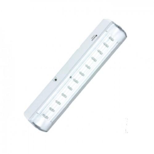 Lampa LED cu acumulator pentru semnalizare Exit/Hidrant