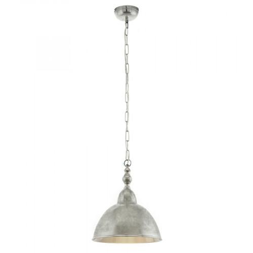 Pendul D35 cm Easington, Eglo, Nichel, 49178