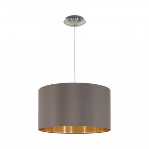 Pendul D38 cm Maserlo, Eglo, Cappuccino, 31603