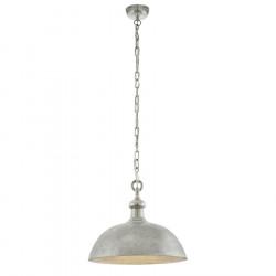 Pendul D50 cm Easington, Eglo, Nichel, 49181