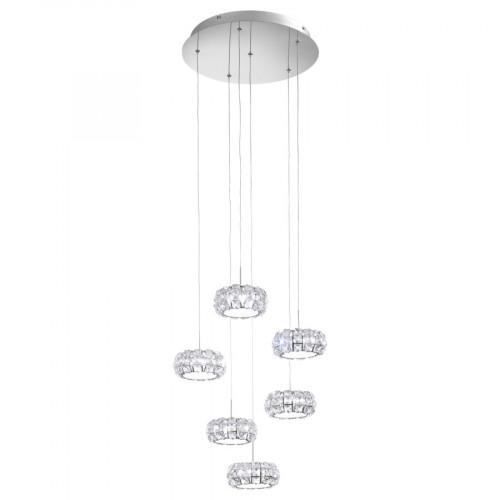 Pendul LED Corliano, Eglo, Crom, 39008