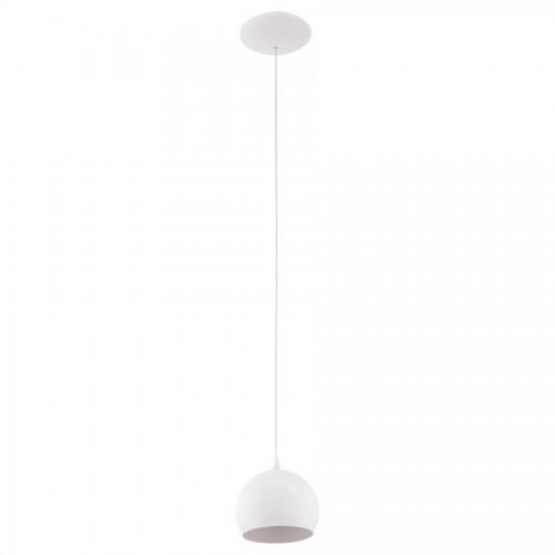 Pendul Petto 1 LED, Eglo, Alb, 94246