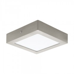 Spot LED aplicat Fueva, Eglo, Nichel, 32445