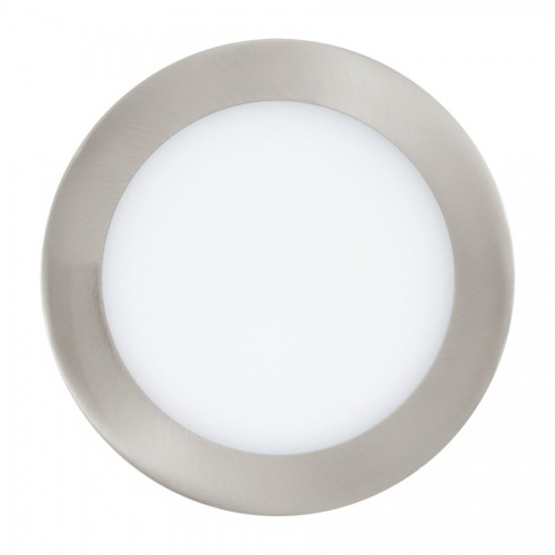Spot LED incastrat Fueva Connect, Eglo, Nichel, 32754