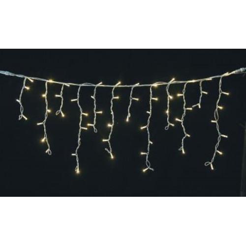 Instalatie craciun turturi luminosi 180 LED-uri, lumina alb cald, Erste