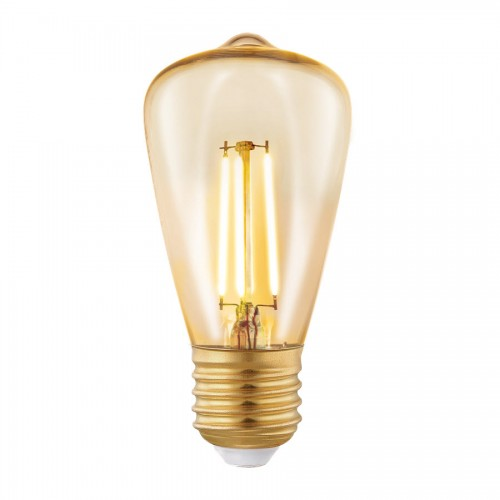 Bec LED decorativ 4W ST48 E27, lumina alb cald, Eglo 11553