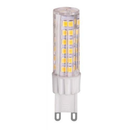 Bec LED 5W G9, lumina alb cald, Total Green
