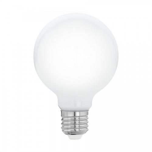Bec LED 8W G80 E27, lumina alb cald, Eglo 11766