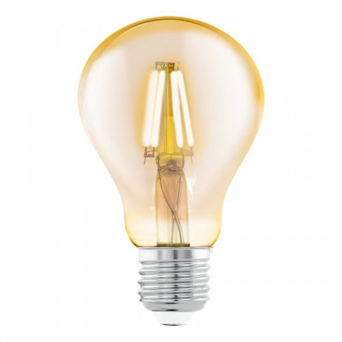 Bec LED decorativ 4W A75 E27, lumina alb cald, Eglo 11555
