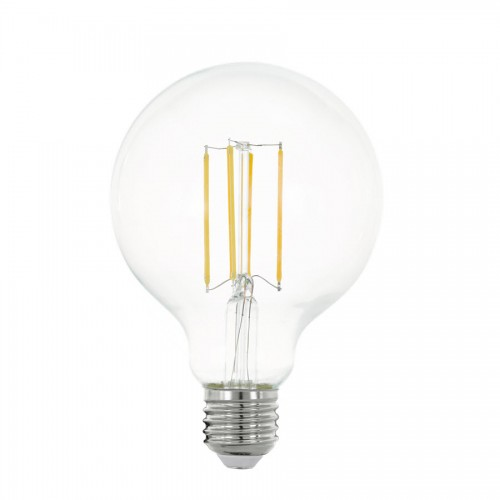 Bec LED decorativ 8W G95 E27, lumina alb cald, Eglo 11756
