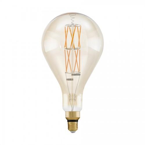 Bec LED decorativ big size 8W E27, lumina alb cald, Eglo 11686