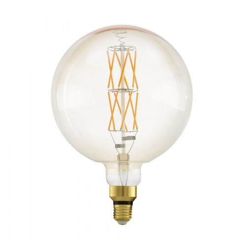 Bec LED decorativ big size 8W E27, lumina alb cald, Eglo 11687