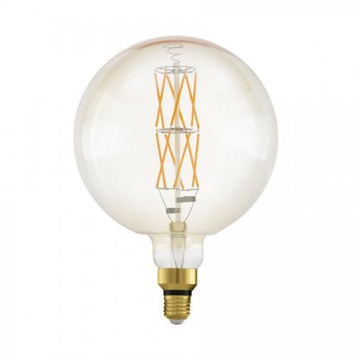 Bec LED decorativ big size 8W E27, lumina calda, Eglo 11687