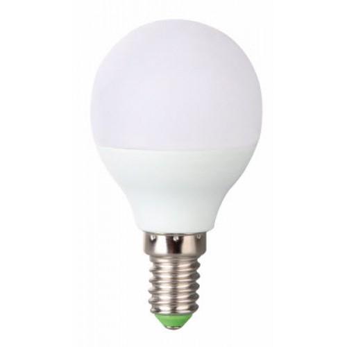 Bec LED sferic 6W E14 G45 Evo17, lumina alb rece, Total Green