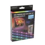 Set banda LED iluminare fundal TV 32-43 inch si telecomanda, Phenom