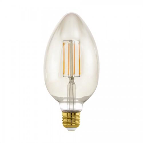 Bec LED decorativ 4W B80 E27, lumina calda, Eglo 11836