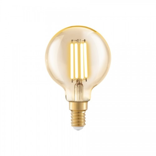 Bec LED decorativ 4W E14, lumina calda, Eglo 11782