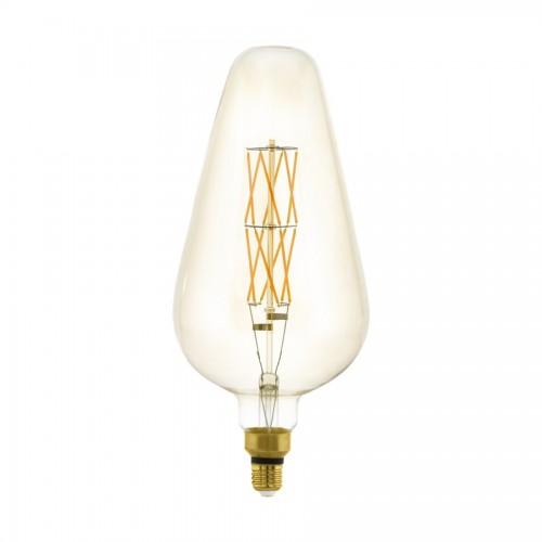 Bec LED decorativ 8W D165 E27, lumina calda, Eglo 11838