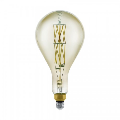 Bec LED decorativ 8W fumuriu E27, lumina calda, Eglo 11844